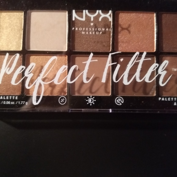 Nyx Perfect Filter Eye Shadow Palette Golden Hour